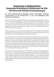 PDF 3,7 MB - HUECK + RICHTER Aluminium GmbH