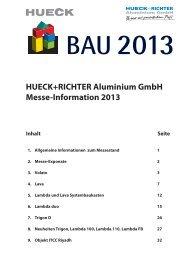 Lambda duo 90 Tür - HUECK + RICHTER Aluminium GmbH