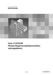 Serie 1.0 VF 50 RR - HUECK + RICHTER Aluminium GmbH