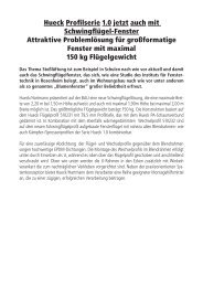 PDF 832 KB - HUECK + RICHTER Aluminium GmbH