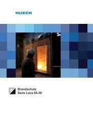 Brandschutz Serie Lava 65-30 - HUECK + RICHTER Aluminium ...