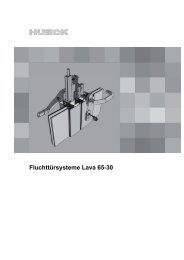 LAVA 65-30 - Fluchttürsysteme - (Stand 04/2012)