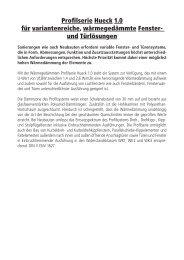 PDF 3,8 MB - HUECK + RICHTER Aluminium GmbH
