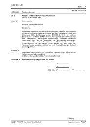 leistungsverzeichnis - hueck2013-lb17 - HUECK Aluminium GmbH