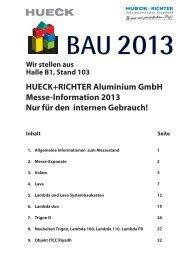 Lambda duo 90 Tür - HUECK Aluminium GmbH