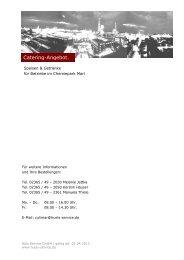 13-04-09 Catering Angebot NEUE Preise - Hüls Service GmbH
