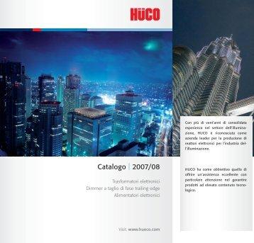 Catalogo | 2007/08 - Hüco Electronic GmbH