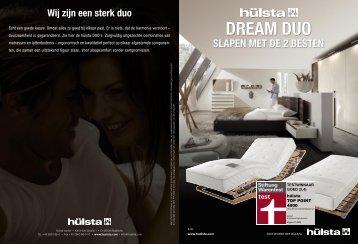 DREAM DUO - Hülsta-Werke Hüls GmbH & Co. KG