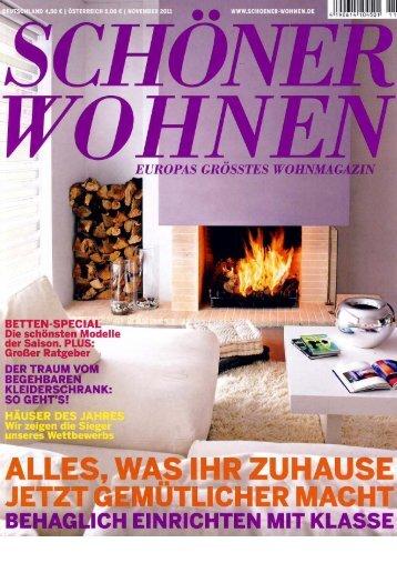 Haus des Jahres 2007 in: Schöner Wohnen 11 - Architekten-Hbh