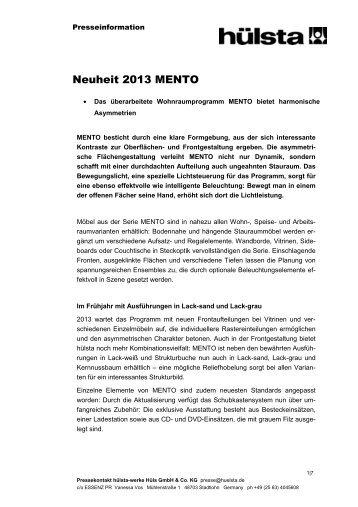Download - Hülsta-Werke Hüls GmbH & Co. KG