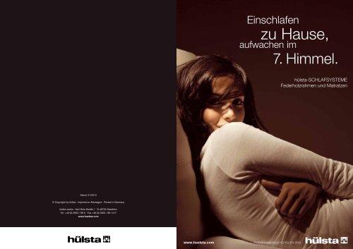 Katalog als PDF - Hülsta-Werke Hüls GmbH & Co. KG