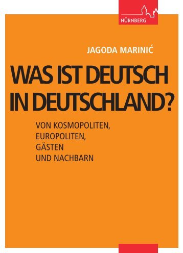 Vortrag als Broschüre - Stadt Nürnberg
