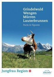 Grindelwald Wengen Mürren Lauterbrunnen - Jungfrau Region ...