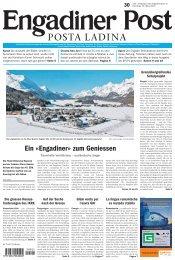Engadiner Post Nr. 30 vom 12. März 2013 (PDF, 5365kB)
