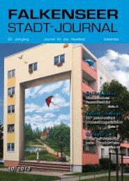 Oktober 2013 - Falkenseer Stadtjournal
