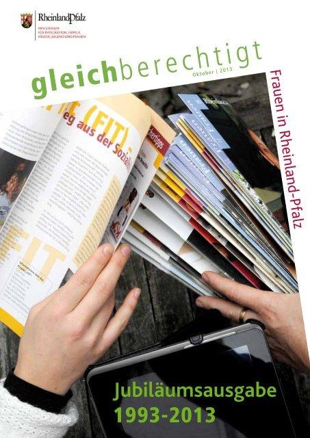 Ausgabe Oktober 2013 - Ministerium für Integration, Familie, Kinder ...