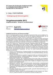zur inhaltlichen Ausrichtung (PDF) - GPM Deutsche Gesellschaft für ...