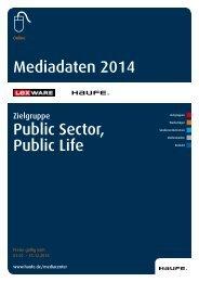 Public Sector und Public Life 2014 [PDF, 829 KB] - Mediadaten ...