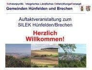 Präsentation der Auftaktveranstaltung vom 26.08.2013 - Gemeinde ...