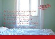 Bedienungsanleitung und Garantie Notice d ... - Hüsler Nest AG