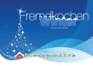 Fremdkochen Winter - Dezember 2008.indd - Hüttenhilfe