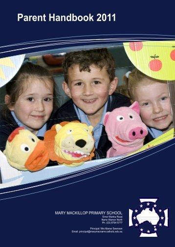 Contents - Mary Mackillop Primary School
