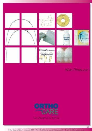 10 Wire Products.indd - Hu-Fa Dental