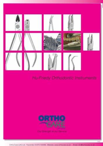 19 Hu-Friedy Orthodontic Instruments.indd - Hu-Fa Dental
