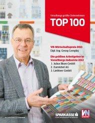 Vorarlbergs größte Unternehmen - Vorarlberg Online
