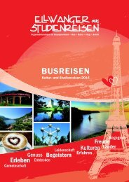 BUSREISEN - Ellwanger Studienreisen