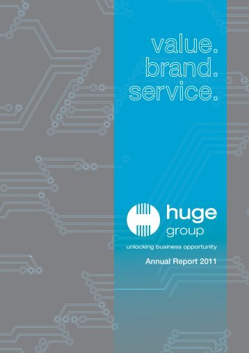 Annual Report 2011 - Huge Group