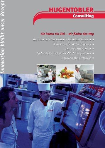 Prospekt Consulting - Hugentobler Schweizer Kochsysteme AG