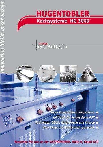 ASC-Butlletin 02/06 - Hugentobler Schweizer Kochsysteme AG