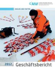 GB-neue intranet.pdf, pages 1-13 - Alfred-Wegener-Institut für Polar ...