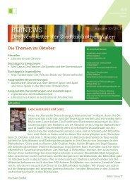 BIBNews Oktober 2013 (pdf, 0,5 MB) - Stadt Aalen