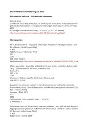 HRK-Bibliothek Datenlieferung Juli 2013 ... - HRK Nexus
