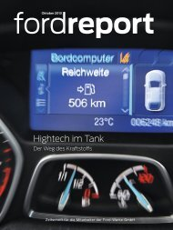 Hightech im Tank - Ford