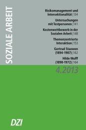 Hilde Wulff - Deutsches Zentralinstitut für soziale Fragen