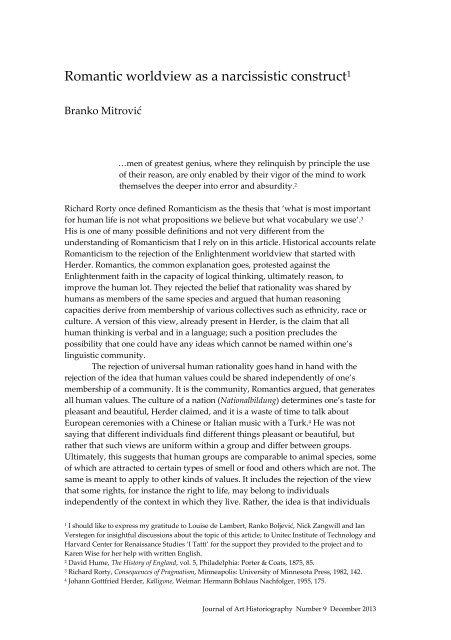 9/BM1 - Journal of Art Historiography - WordPress.com
