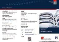 Flyer: Bibliothek Fachbereich Chemie - Universität Hamburg