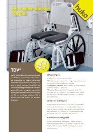 TDV® Een unieke douche rolstoel - Huka