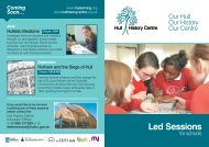 Led Sessions - Hull History Centre