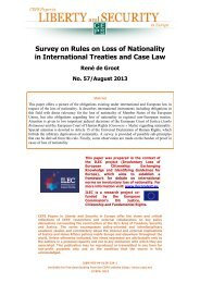 Survey on Rules on Loss of Nationality in International Treaties and ...