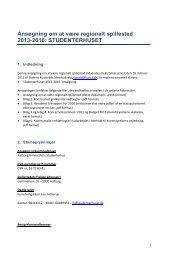STUDENTERHUSET - Aalborg Kommune