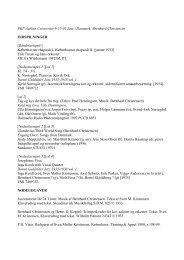 PKP Aarhus Universitet 9-11-02 Jazz i Danmark. Bernhard ...