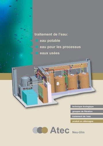 Traitement des eaux usées sans chimie Atec Advanced Oxidation ...