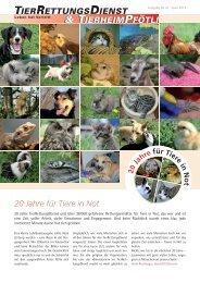 TRD-News Nr. 41 - TierRettungsDienst & Tierheim Pfötli