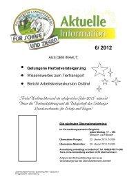 Aktuelle Info 6-2012 - ALPINETGHEEP