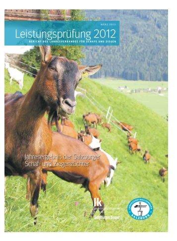 Leistungsprüfung 2012 - ALPINETGHEEP
