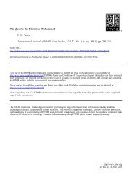 The Quest of the Historical Muhammad F. E. Peters International ...